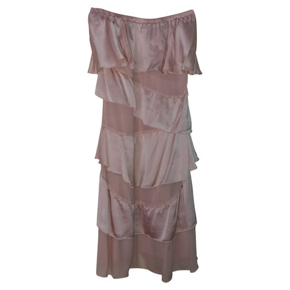 Patrizia Pepe Kleid mit Seiden-Volants