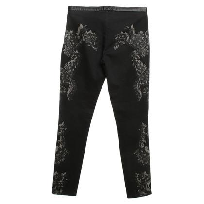 Roberto Cavalli trousers with print motif
