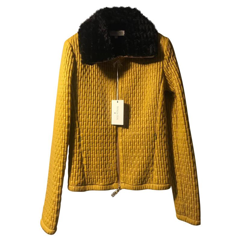 Achat veste jaune