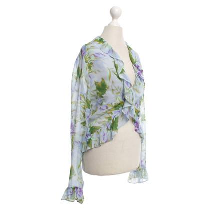Nusco Zomer blouse met bloemenprint