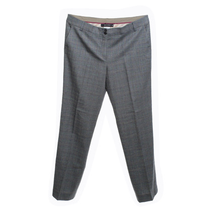 Etro Wool trousers with check pattern