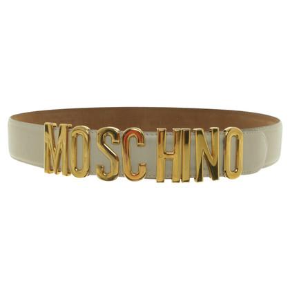 Moschino Belt in beige