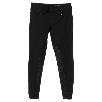 Gucci Trousers with leather inserts