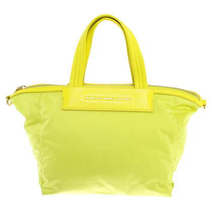 Marc by Marc Jacobs Tas in neongeel