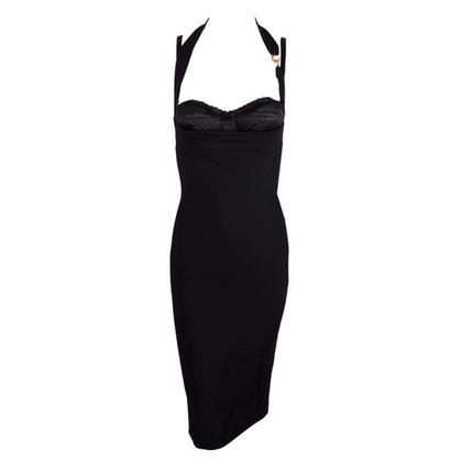 Dolce & Gabbana Black viscose jurk