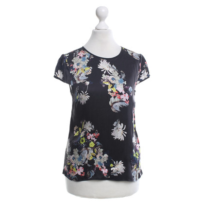 Erdem top with a floral pattern