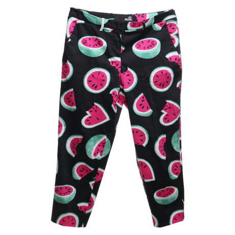 Moschino Love Hose mit Muster Bunt / Muster