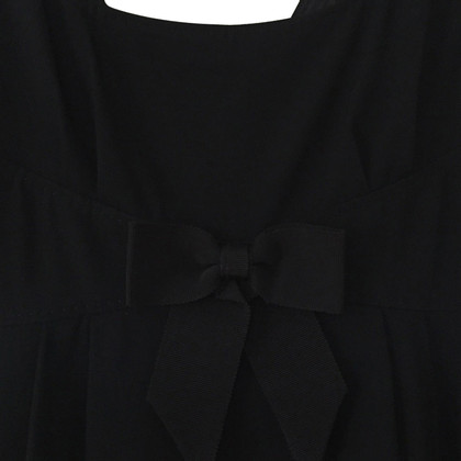 Moschino Black dress with bow detail