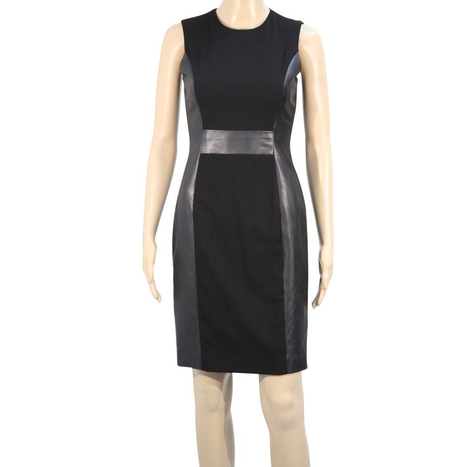 Calvin Klein Kleid in Schwarz - Second Hand Calvin Klein ...