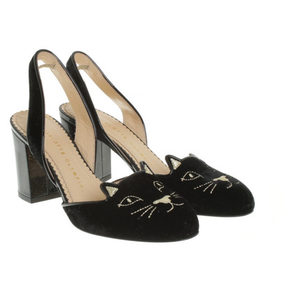 Charlotte Olympia pumps with motif