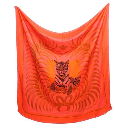 Hermès Seidentuch mit Tiger-Motiv