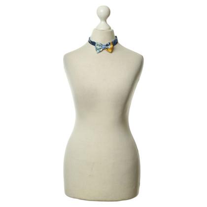 Hermès Papillon di seta colorato