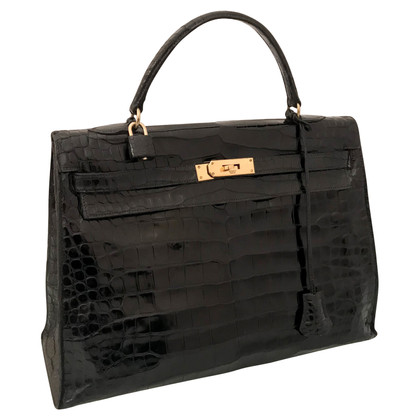 "Hermès ""Kelly Bag 35 pelle di coccodrillo"""