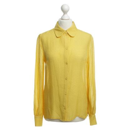 Baum und Pferdgarten Leichte Bluse in Gelb
