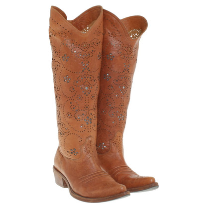 Ermanno Scervino Boots in light brown