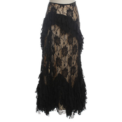 John Galliano lace skirt