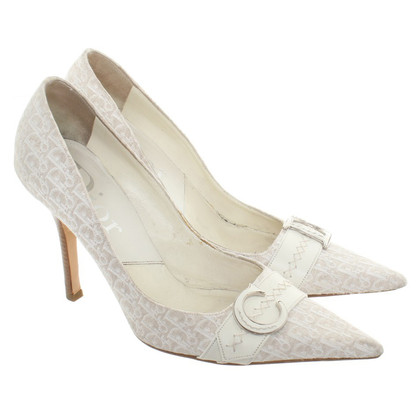 Christian Dior pumps with logo pattern
