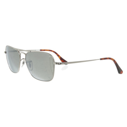 Ray Ban Silver colored sunglasses