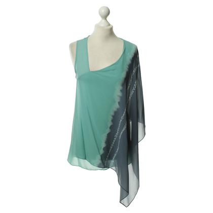 Donna Karan top silk