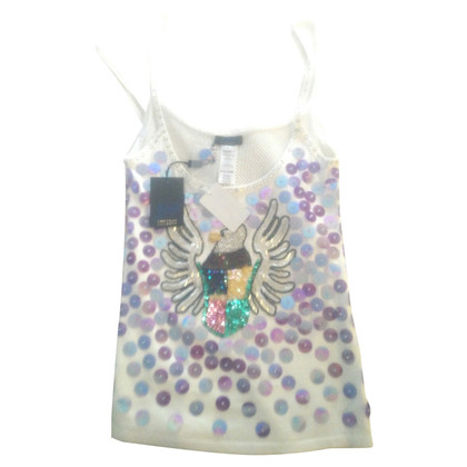 Christian Lacroix top with embroidery