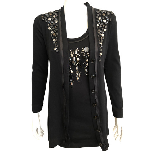 timeless design b32f9 45e9d Marc Cain Top in Black - Second Hand Marc Cain Top in Black ...