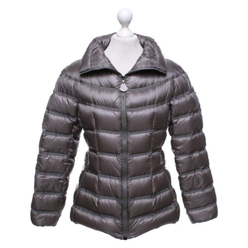 new product 5f2d8 69151 Moncler Jacke/Mantel in Grau - Second Hand Moncler Jacke ...