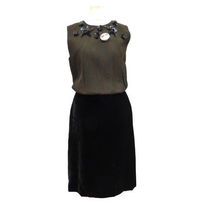 Prada Dress made of a material mix