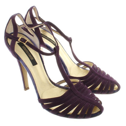 Roberto Cavalli pumps in Viola