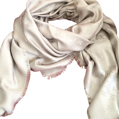 Louis Vuitton Monogram scarf in beige