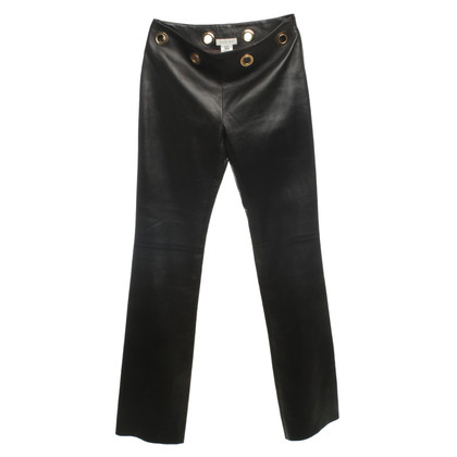 Céline leather pants