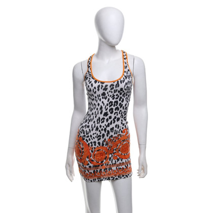 Gianni Versace Top mit Animal-Print