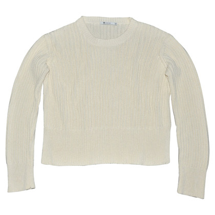 T by Alexander Wang Strickpullover in Creme