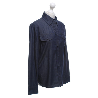Strenesse Jeans blouse in dark blue
