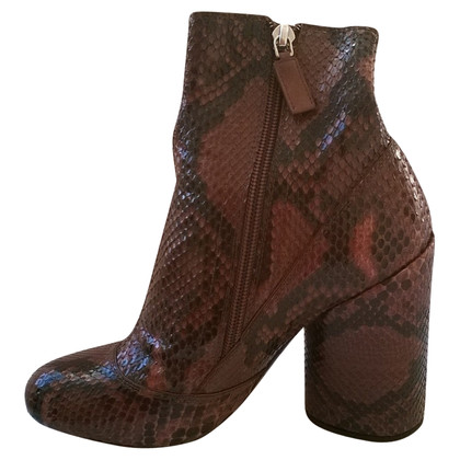 Marc Jacobs Boots Python Leather