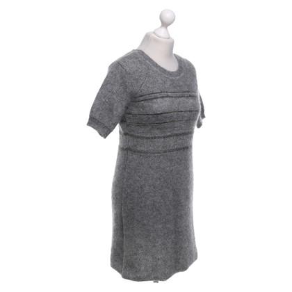 Vanessa Bruno Robe en tricot gris