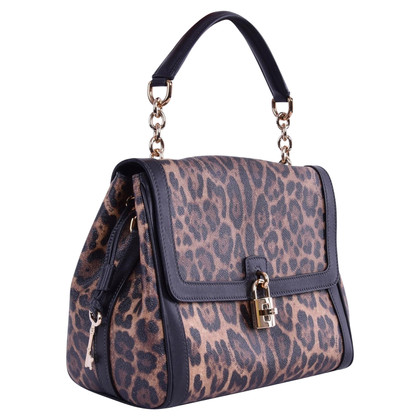 Dolce & Gabbana Handtas met Leopard Print
