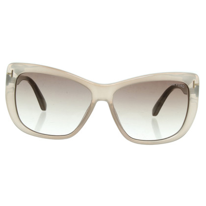 Tom Ford Sonnenbrille in Beige