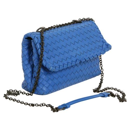 Bottega Veneta Umhängetasche in Blau Blau srBpma