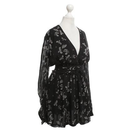 Just Cavalli Short dress with bird print