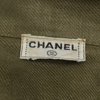Chanel Costume in olive green