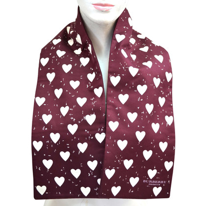Burberry Prorsum Scarf with heart pattern