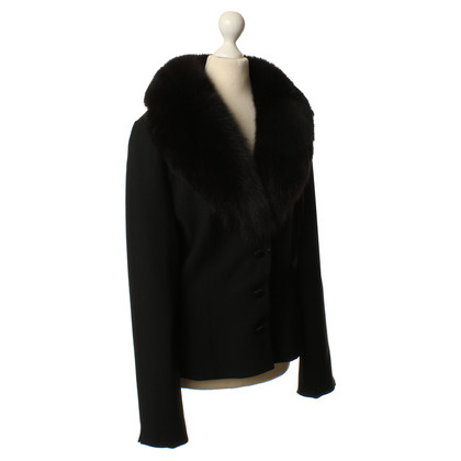 Blumarine Blazer with real fur collar