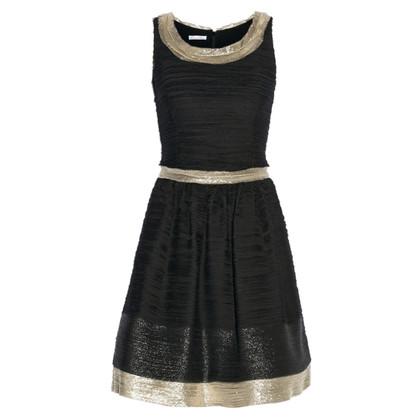 Oscar de la Renta Seidenchiffon-Kleid
