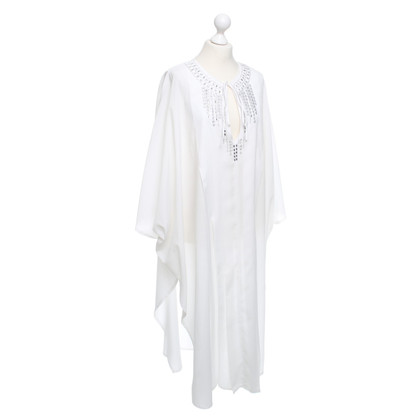 La Perla Kaftan Dress in White
