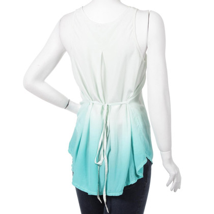 Reiss Top Vest Verde di Silk Ombre