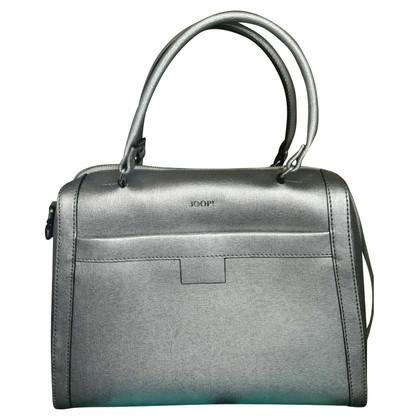 JOOP! Silberfarbene Handtasche