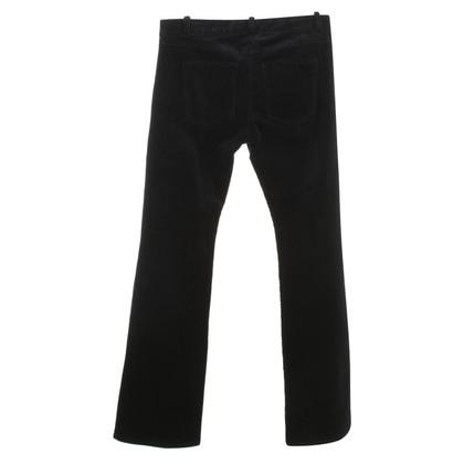 C'est tout pantaloni di velluto in blu scuro