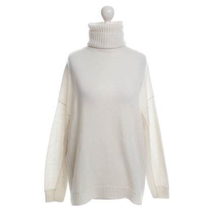 Allude Turtleneck Sweater in cream