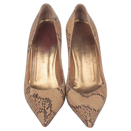 Dolce & Gabbana Pumps in Beige