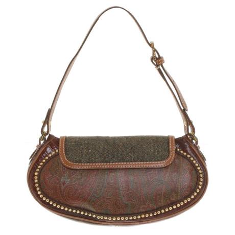 Neuesten Kollektionen Günstiger Preis Steckdose Countdown-Paket Etro Handtasche mit Nietenbesatz Bunt / Muster Spielraum Angebote hKZBHzVfS